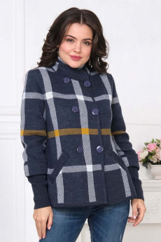 Новинка: вязаный жакет на пуговицах Текстильная мануфактура